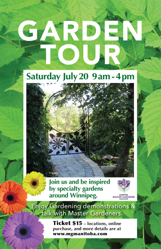 MMGA Annual Garden Tour @ City of Winnipeg