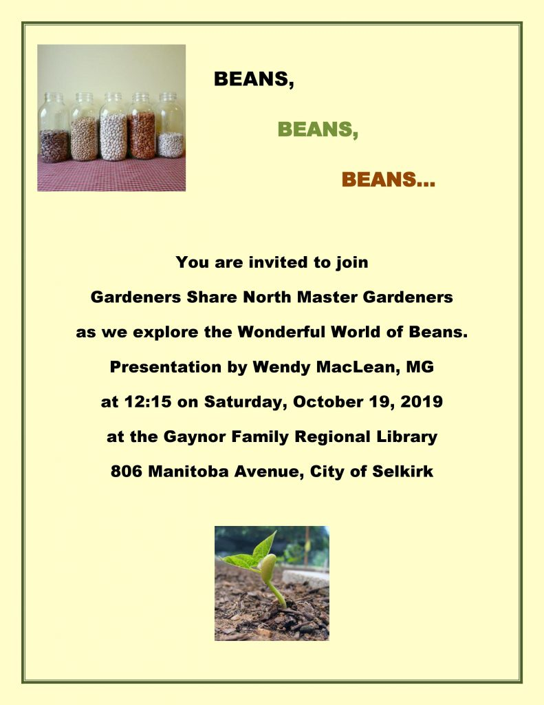 Wonderful World of Beans @ Gaynor Family Regional Library