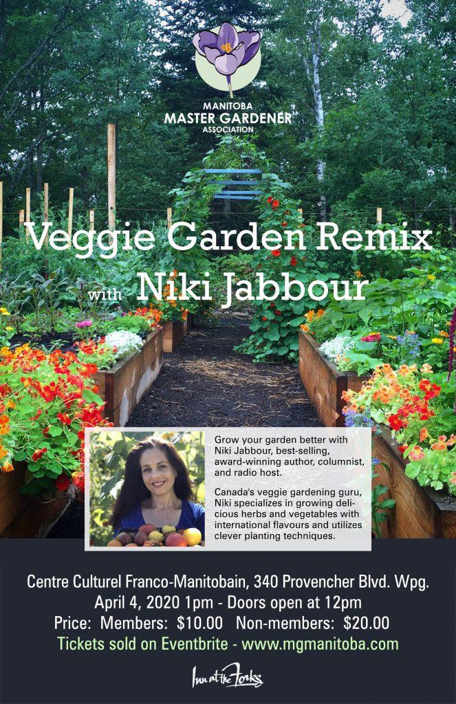 Niki Jabbour - Veggie Garden Remix @ St. Boniface Cultural Centre