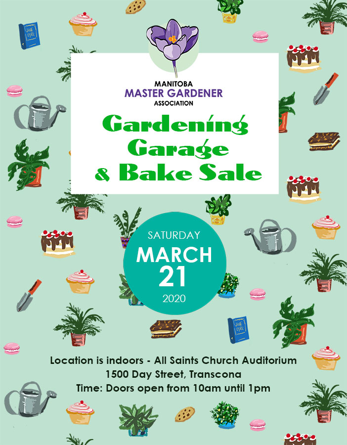 Garage & Bake Sale-Manitoba Master Gardener Association @ All Saints Church Auditorium