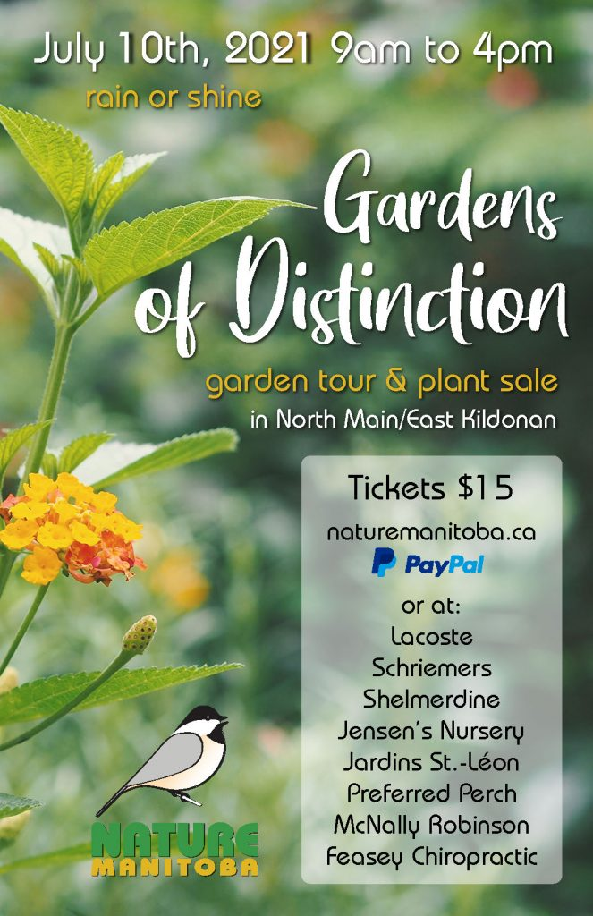 Nature Manitoba 2021 Garden Tour