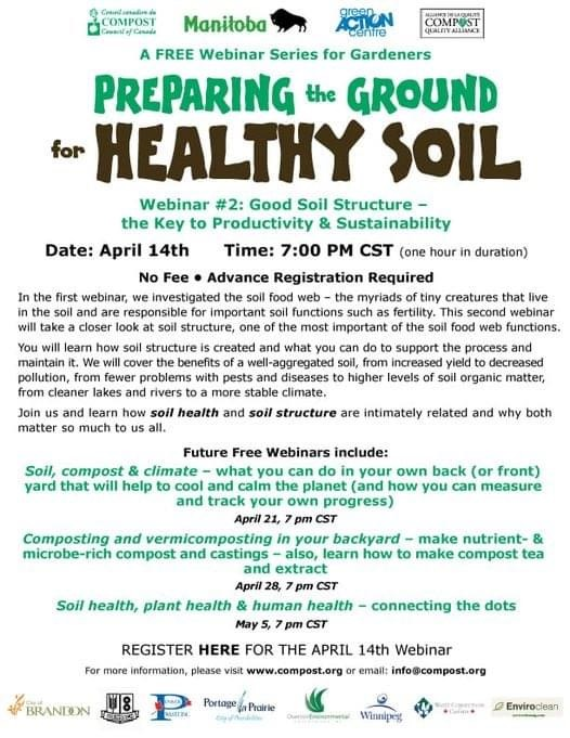 Soil Health, Plant Health and Human Health @ Zoom meeting online